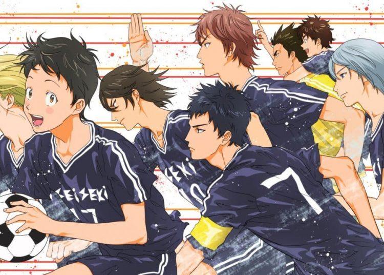 Anime bóng đá Days