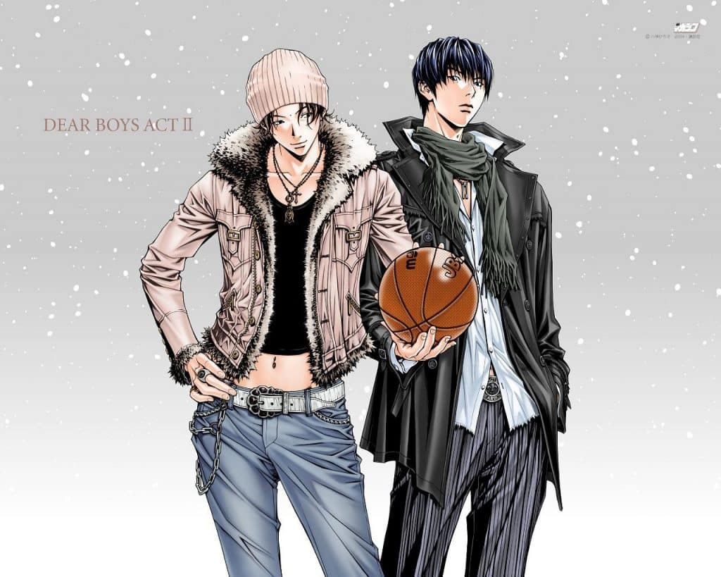 Anime bóng rổ Dear Boys