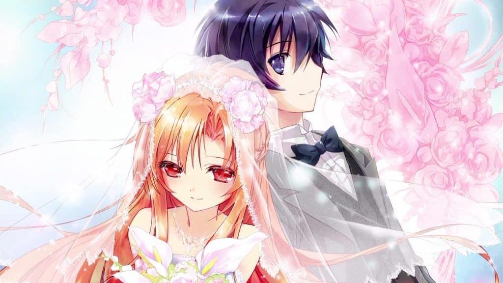 Anime tình yêu đẹp lãng mạn