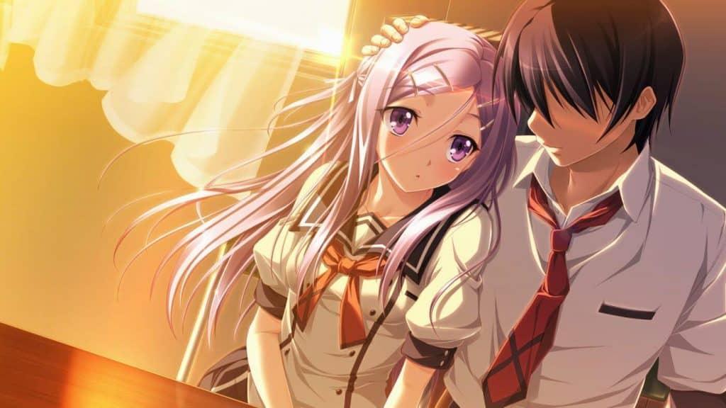 Ảnh bìa anime facebook ngọt ngào