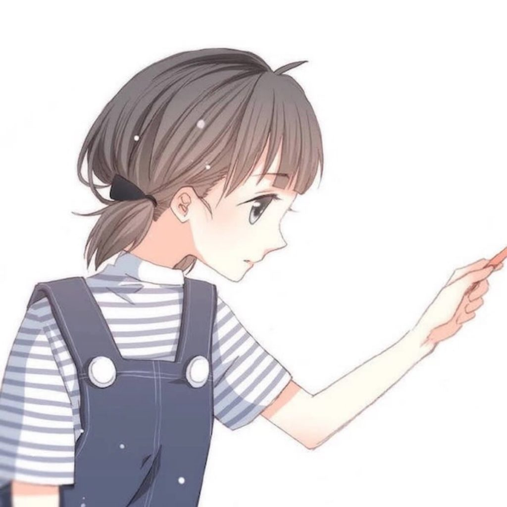 Ảnh cặp anime facebook cute