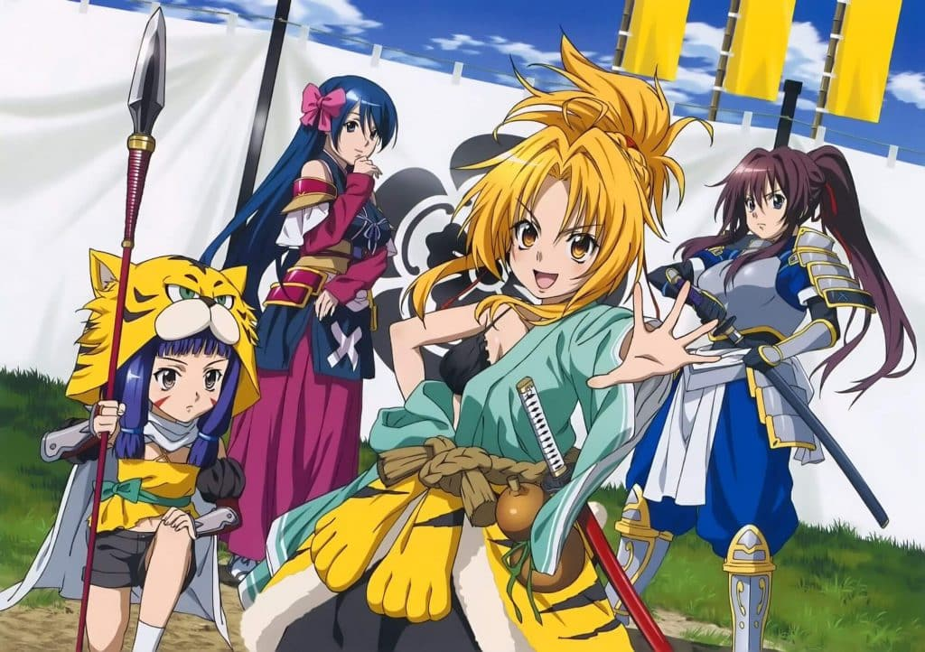 Anime cổ trang Nhật Bản Oda Nobuna no Yabou
