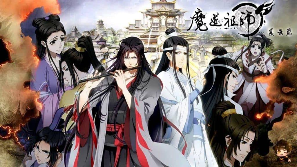 Anime cổ trang Trung Quốc Mo Dao Zu Shi