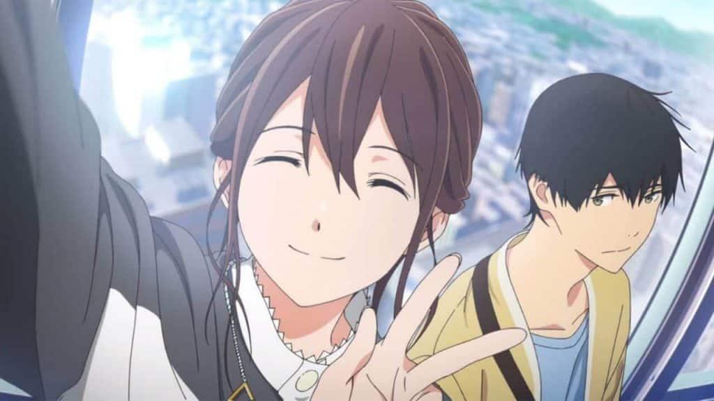 Anime cười nhẹ nhàng