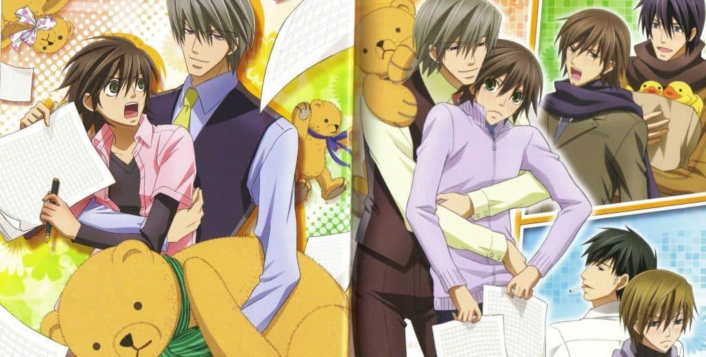 Bộ anime đam mỹ Junjou romantica