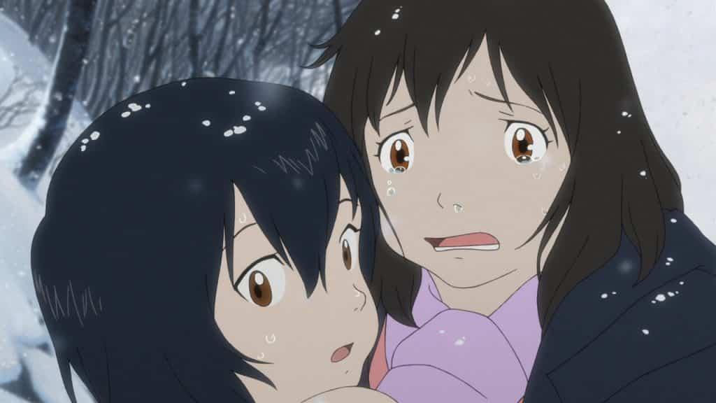 Anime Ookami Kodomo no Ame to Yuki