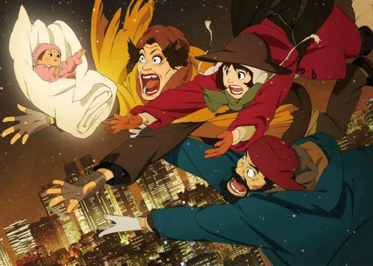 Anime giáng sinh Tokyo Godfathers