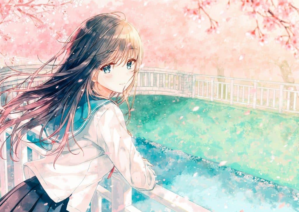 Hình nền Anime girl xinh xắn