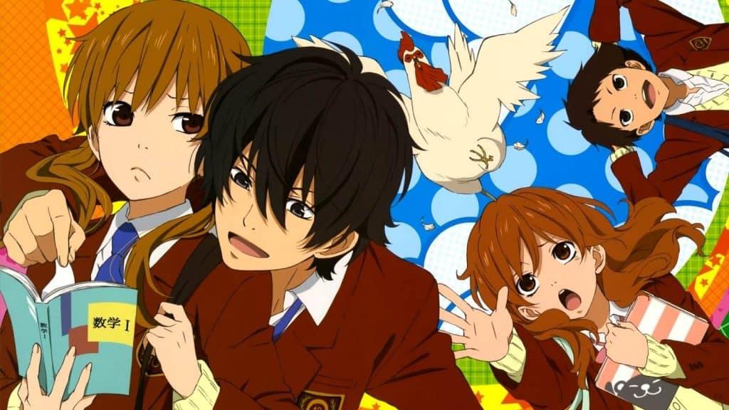 Anime học đường cá biệt Tonari no Kaibutsu-kun