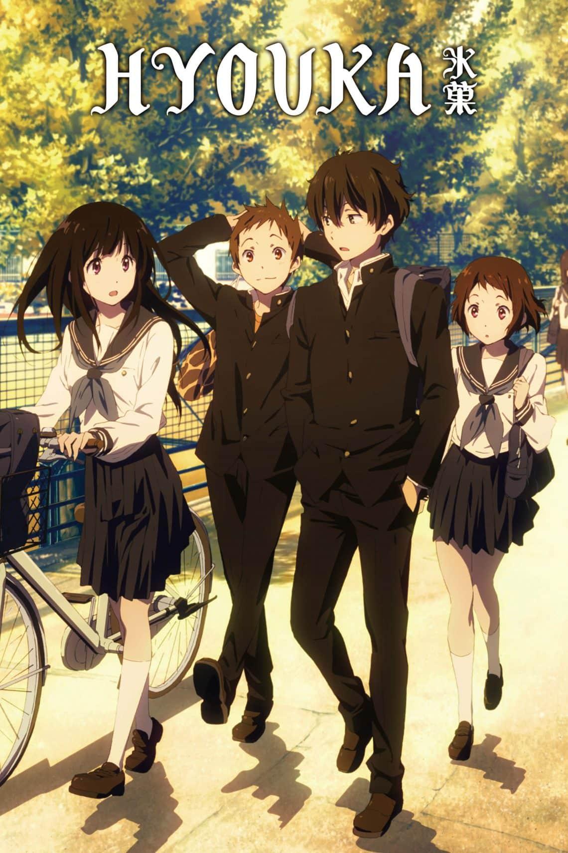 Anime học đường nhẹ nhàng Hyouka