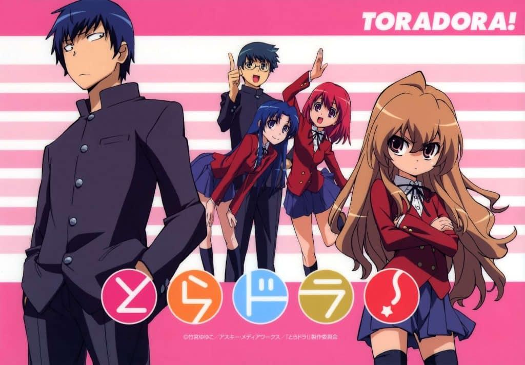 Anime học đường tình cảm Toradora