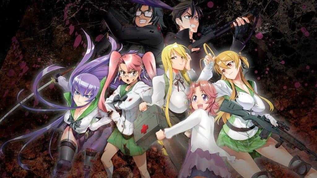 Anime kinh dị zombie