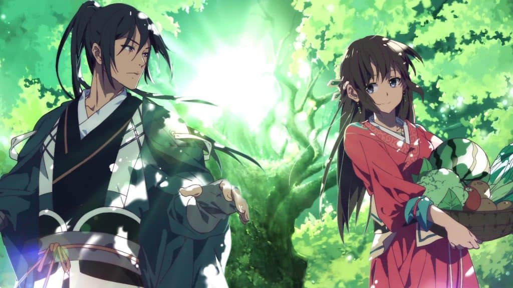 Anime Trung Quốc cổ trang Meng Qi Shi Shen