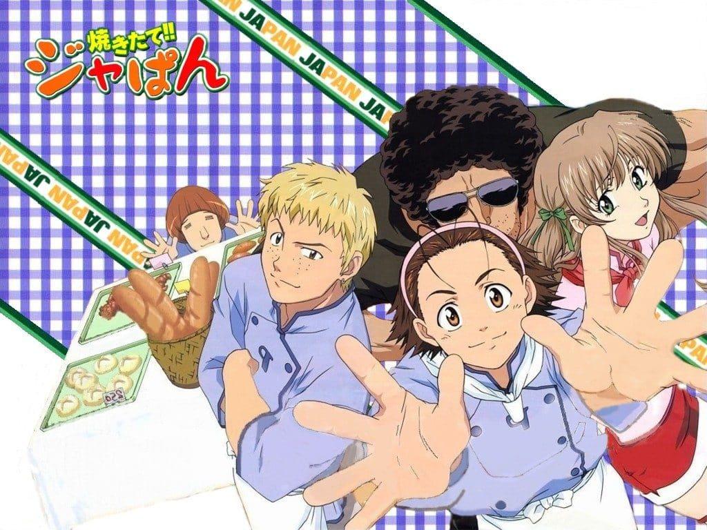 Anime Vua Bánh Mỳ Nhật Bản