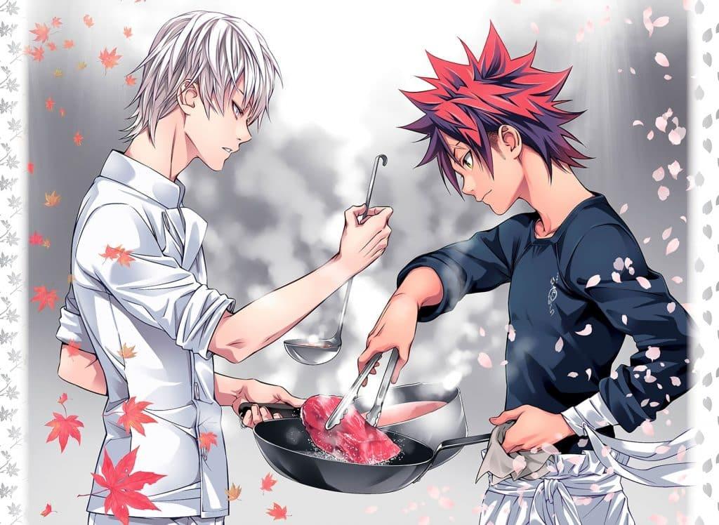 Anime vua đầu bếp Soma