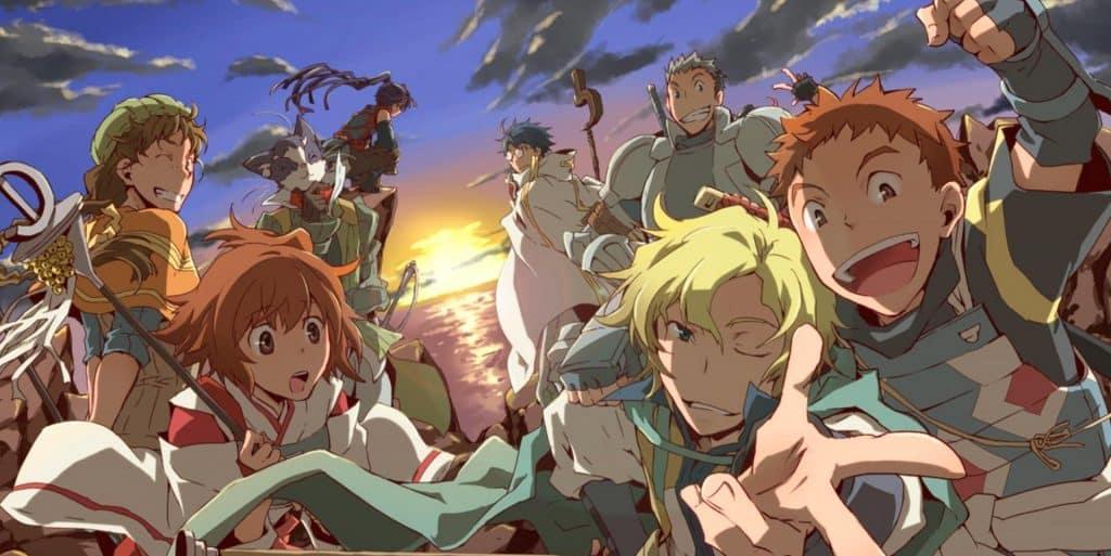 anime xuyên không vào thế giới game