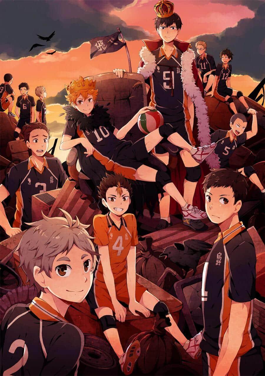 Đội bóng chuyền trong anime Haikyuu