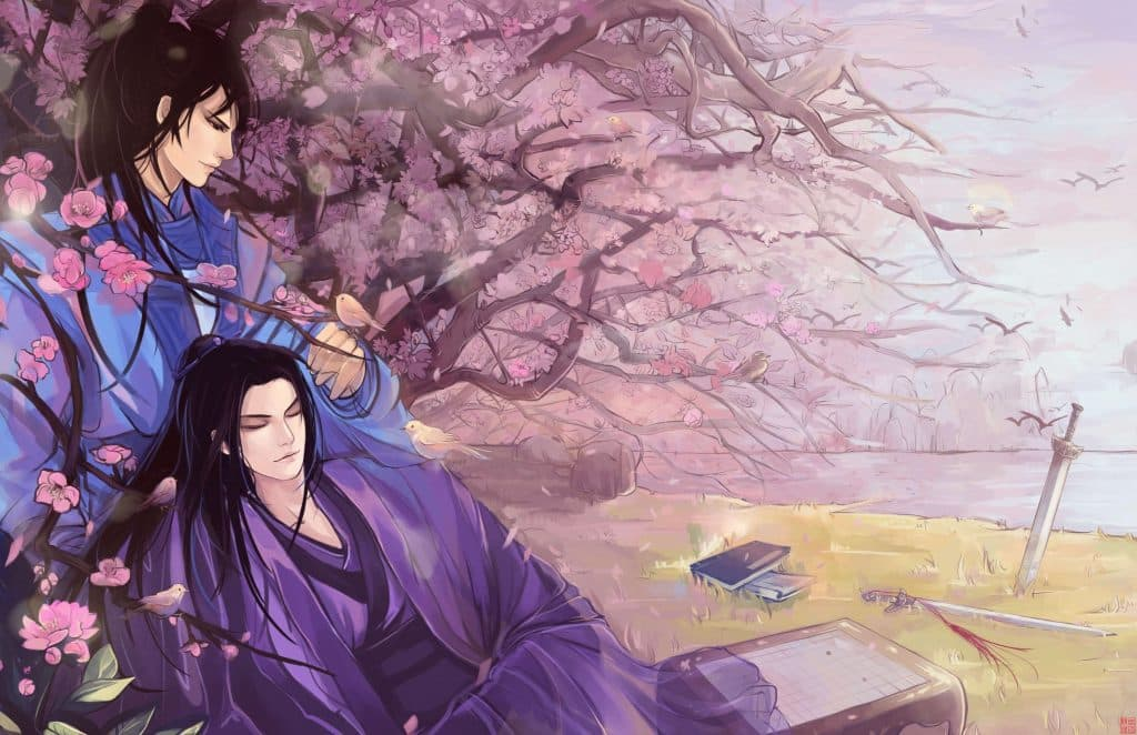 Anime cổ trang thể loại đam mỹ