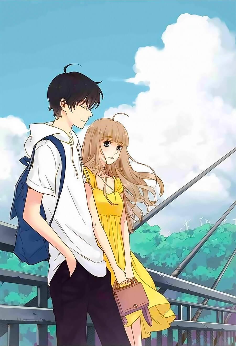 Hình nền anime cặp đôi