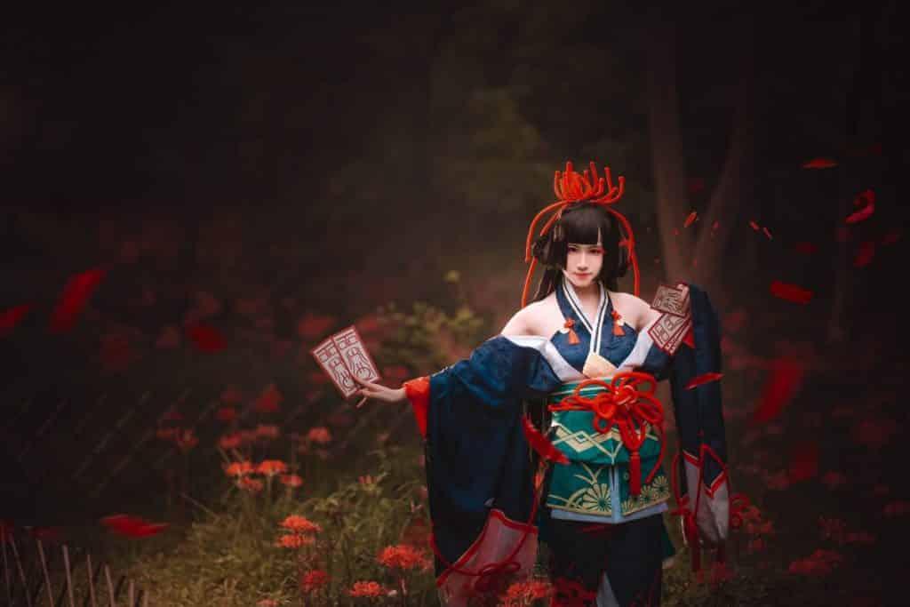 Hoa bỉ ngạn anime đẹp