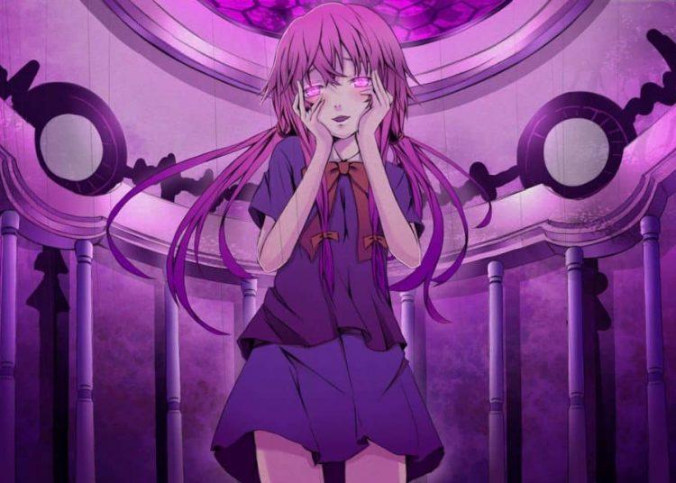 Yuno Gasai trong bộ anime Future Diary