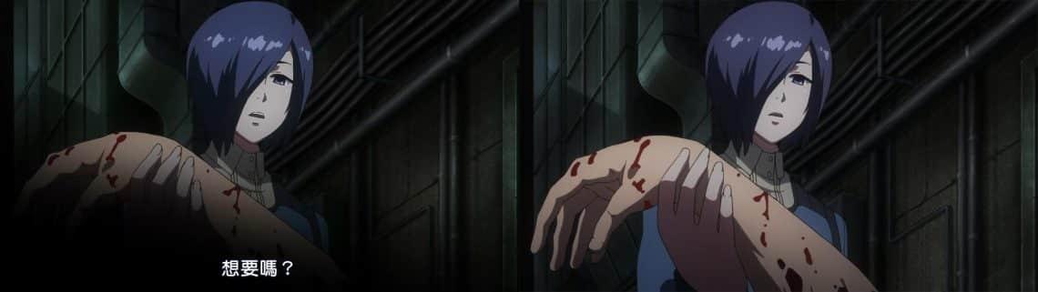 Bản anime bluray được phát hành sắc nét hơn
