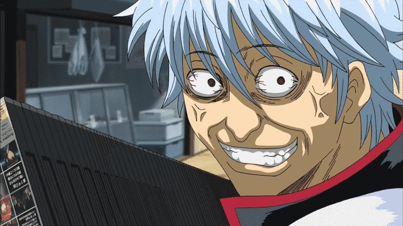 Thánh gây cười trong anime Gintama