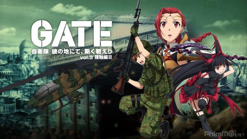 Cổng Chiến Tranh (GATE) - Anime 18+