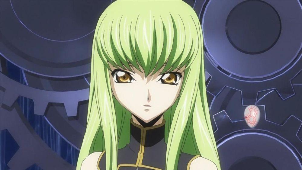 C.C là cô gái bất tử với mái tóc màu xanh lá độc đáo