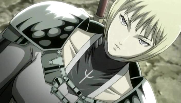 Nhân vật Clare trong bộ Anime Claymore