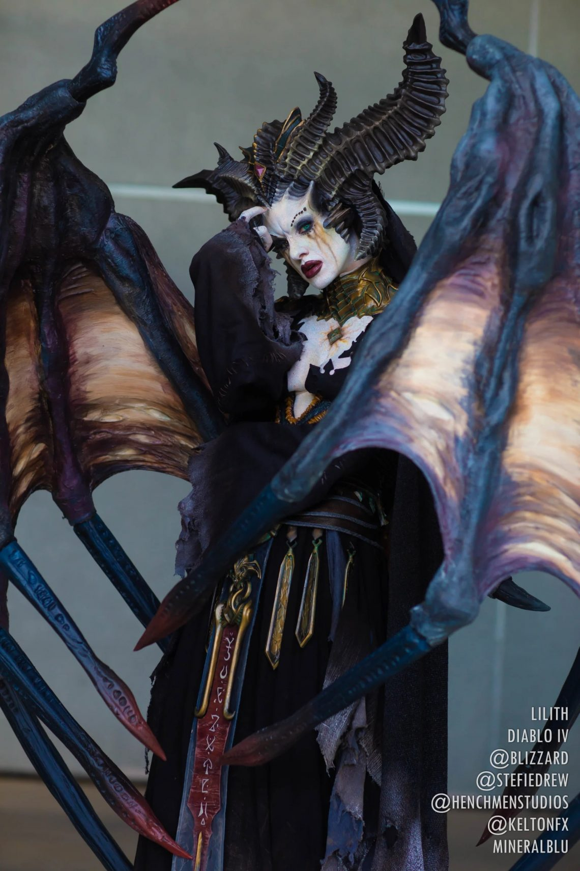 Cosplay Lilith hoàn hảo cho Dibalo 4 (1)