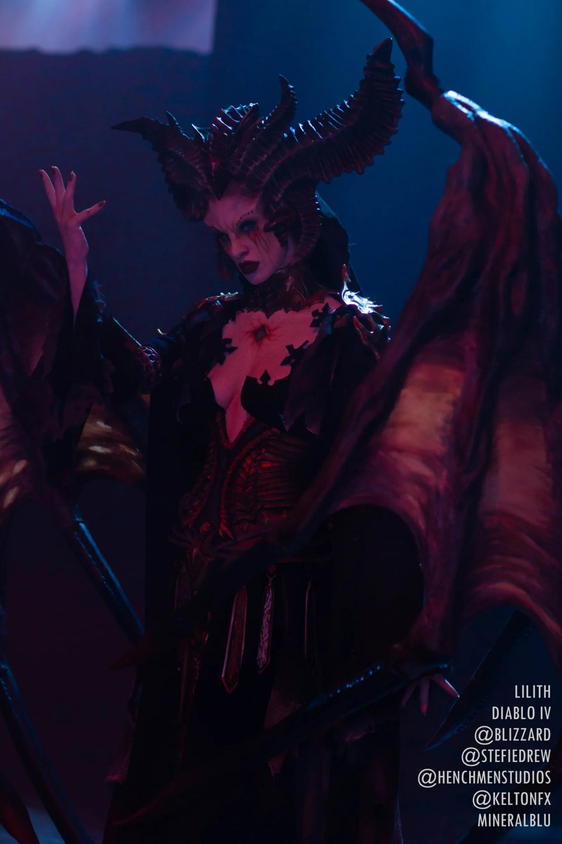 Cosplay Lilith hoàn hảo cho Dibalo 4 (2)