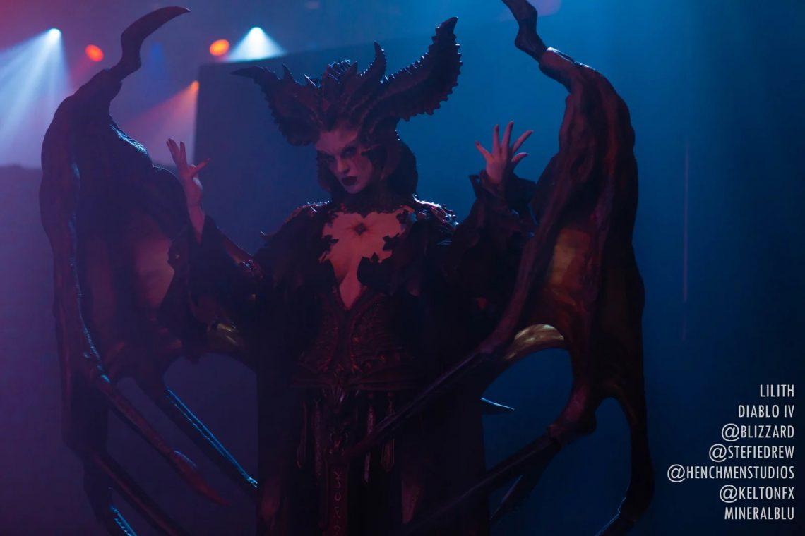 Cosplay Lilith hoàn hảo cho Dibalo 4 (3)
