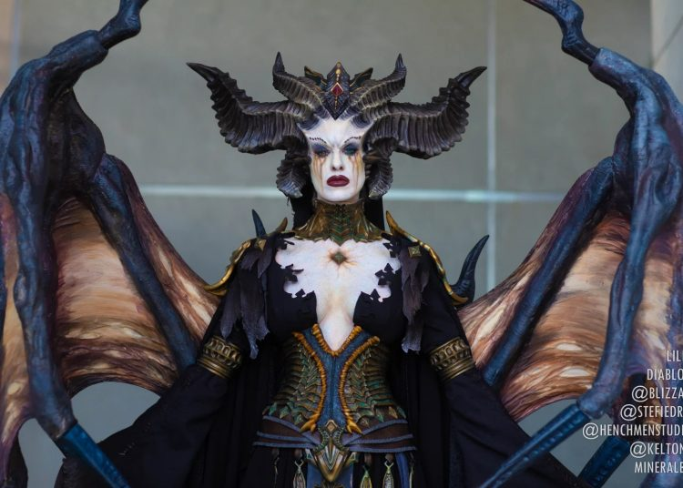 Cosplay Lilith hoàn hảo cho Dibalo 4 (4)