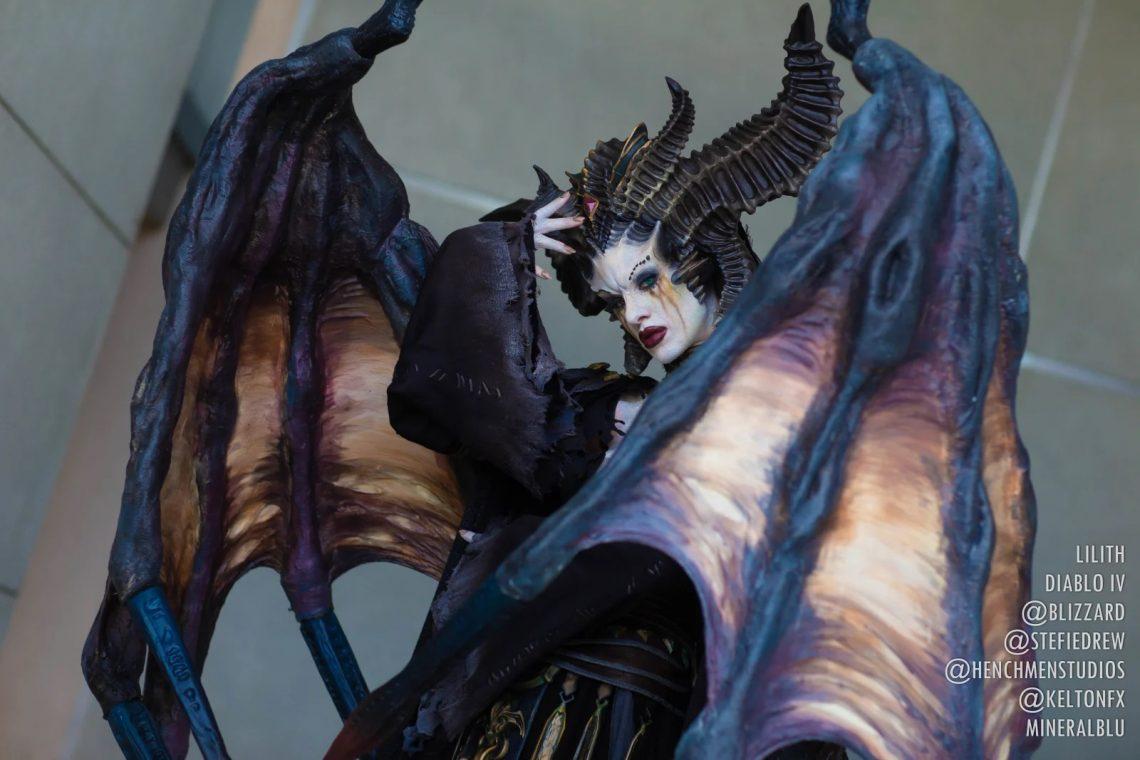 Cosplay Lilith hoàn hảo cho Dibalo 4 (5)