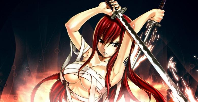 Erza Scarlet (Fairy Tail - Hội Pháp Sư) - Sexy Anime Girl