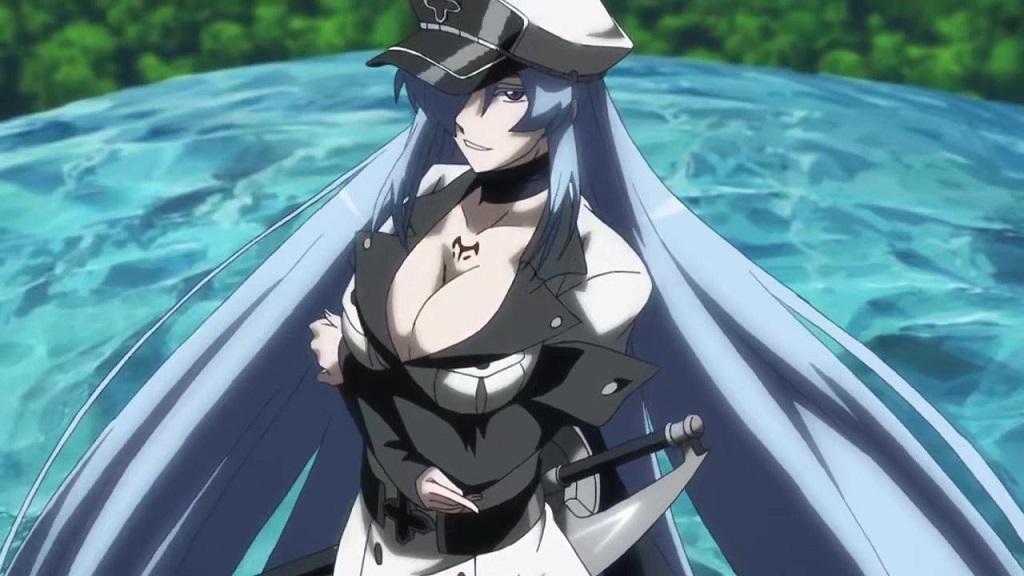 Esdeath (Akame Ga Kill - Sát Thủ Akame) - Anime Girl Sexy