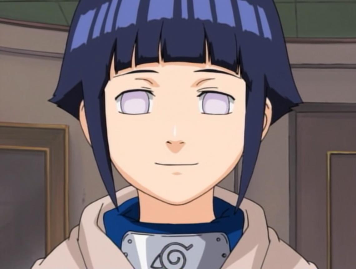Hinata cô gái hình lành, tốt bụng và rất hay mắc cỡ