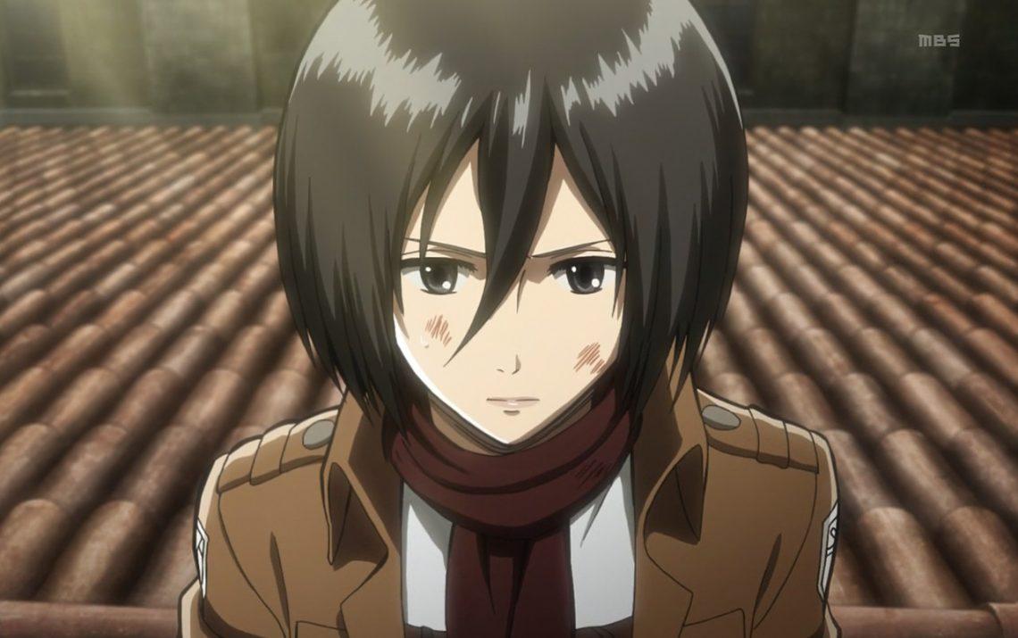 Mikasa được thể hiện qua bộ Anime Shingeki no Kyojin với khuôn mặt xinh đẹp cùng khả năng chiến đấu mạnh mẽ