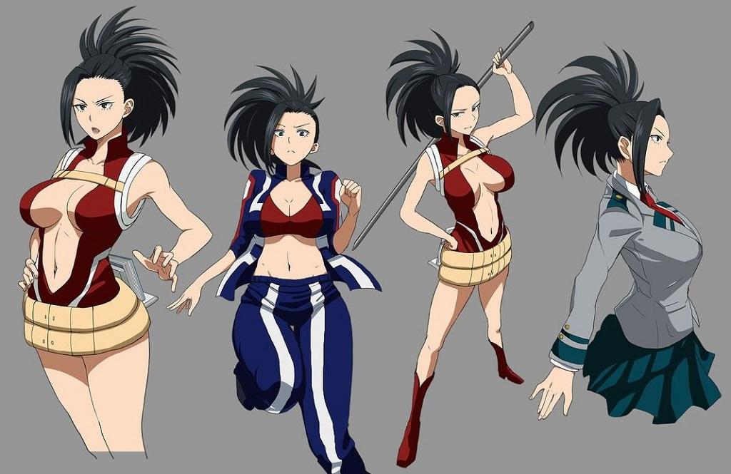 Momo Yaoyorozu (My Hero Academia - Học Viện Anh Hùng) - Sexy Anime Girl