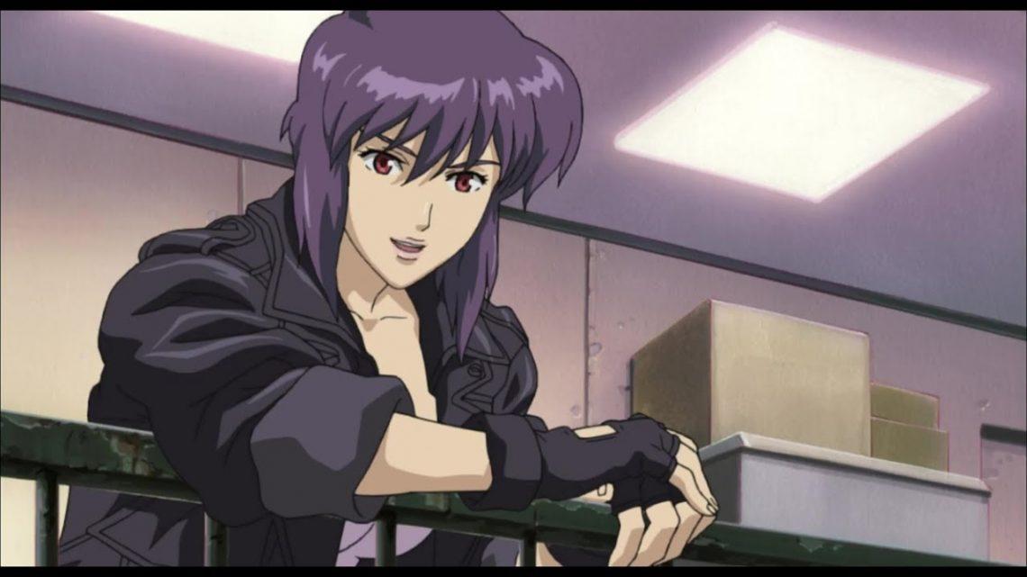 Nhân vật Motoko Kusanagi trong bộ Anime Ghost in the Shell