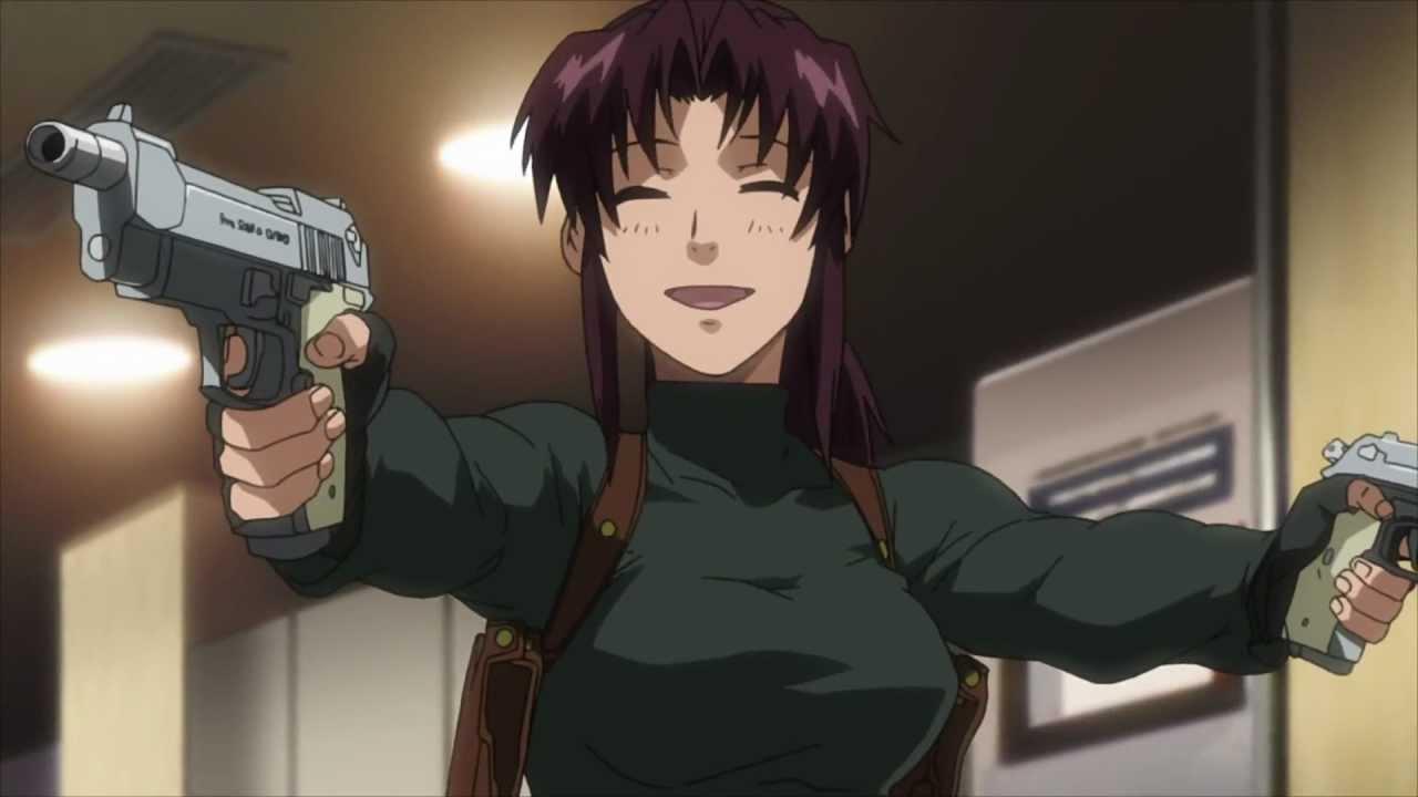 Nhân vật Revy trong bộ Anime Black Lagoon