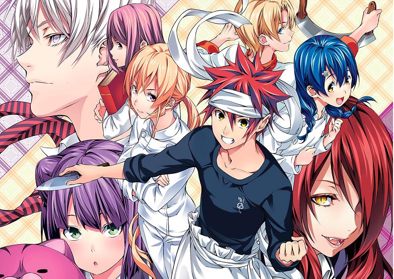 Vua bếp Soma (Food Wars Shokugeki no Soma) - Anime 18+