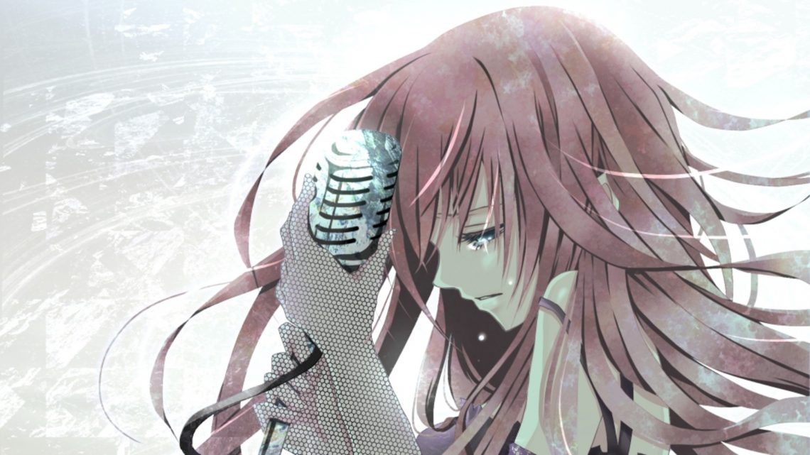 Ảnh 7: Một cô ca sĩ đang đắm chìm trong những cảm xúc buồn, tâm trạng qua bài hát của mình