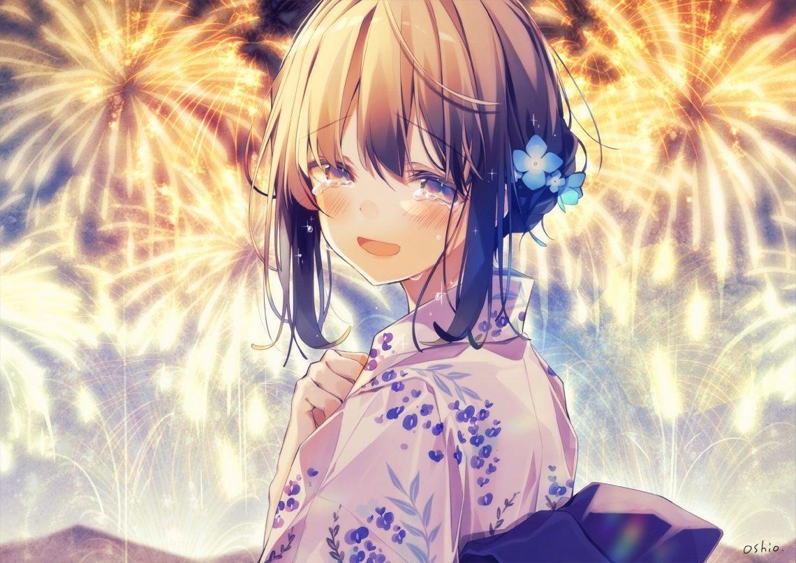 Ảnh 9: Khung cảnh của bức ảnh hoàn toàn trái ngược với cảm xúc và những giọt nước mắt của cô gái