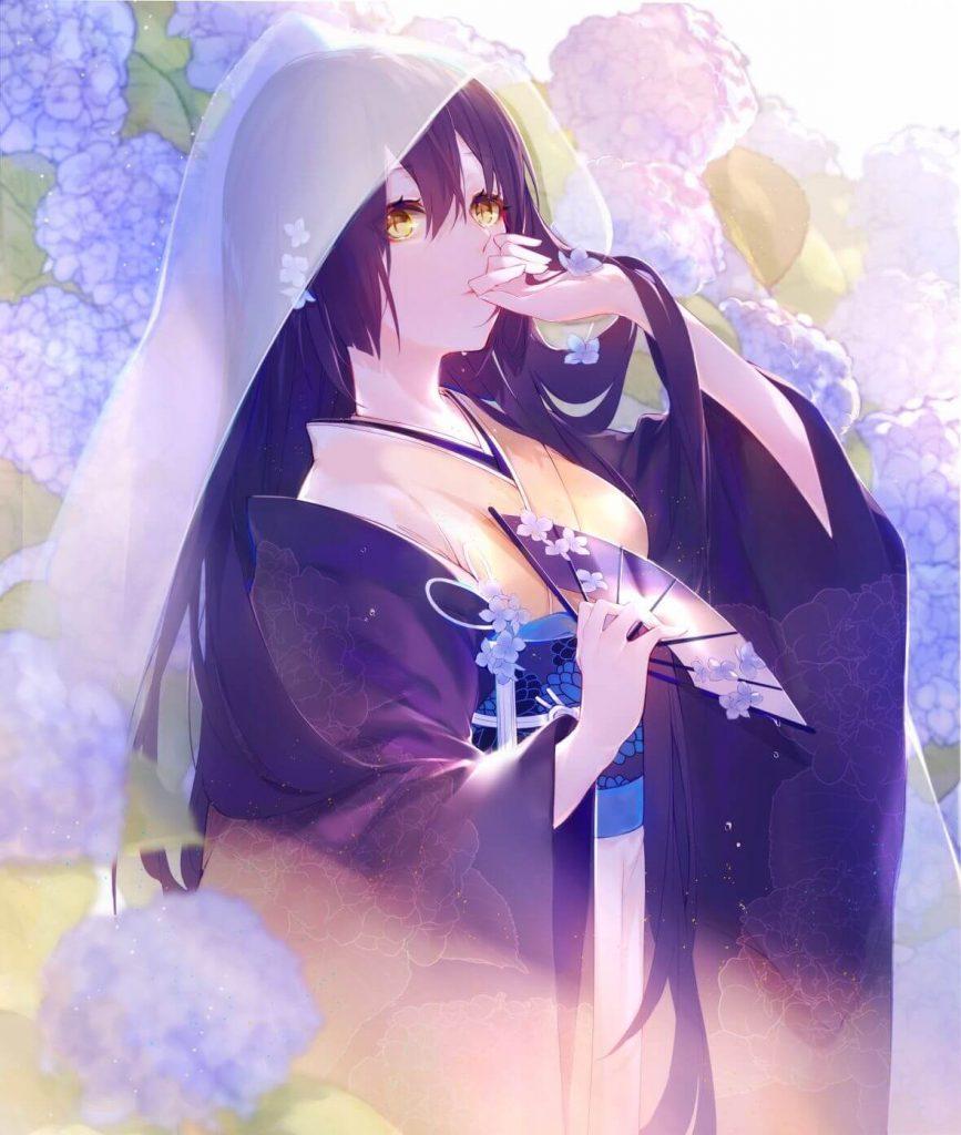 Ảnh Anime girl cổ trang