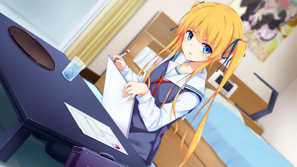 Ảnh Anime girl tóc vàng Eriri Spencer Sawamura