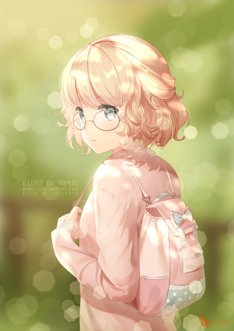 Ảnh Anime nữ tóc ngắn