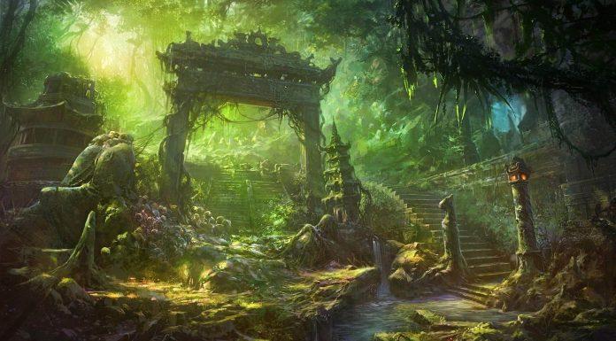 Những bộ ảnh Anime với khung cảnh kì bí luôn chiếm được ấn tượng đặc biệt đối với nhiều fan cuồng của những bộ phim hoạt hình Nhật Bản