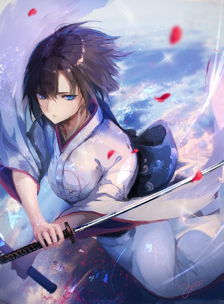 Ảnh 17: Kiếm sĩ Samurai với kỹ năng điêu luyện là hình ảnh vô cùng ngầu trong mắt nữ giới